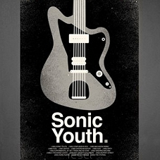 Plakat Sonic Youth w ramie