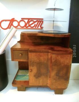Szafka Nocna Art Deco Meble Z Odzysku Lata 60 Retro I