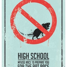 "Blaszany Plakat ""High School"""