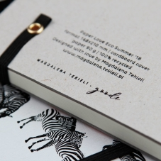 Paper Love NOTES ZEBRA