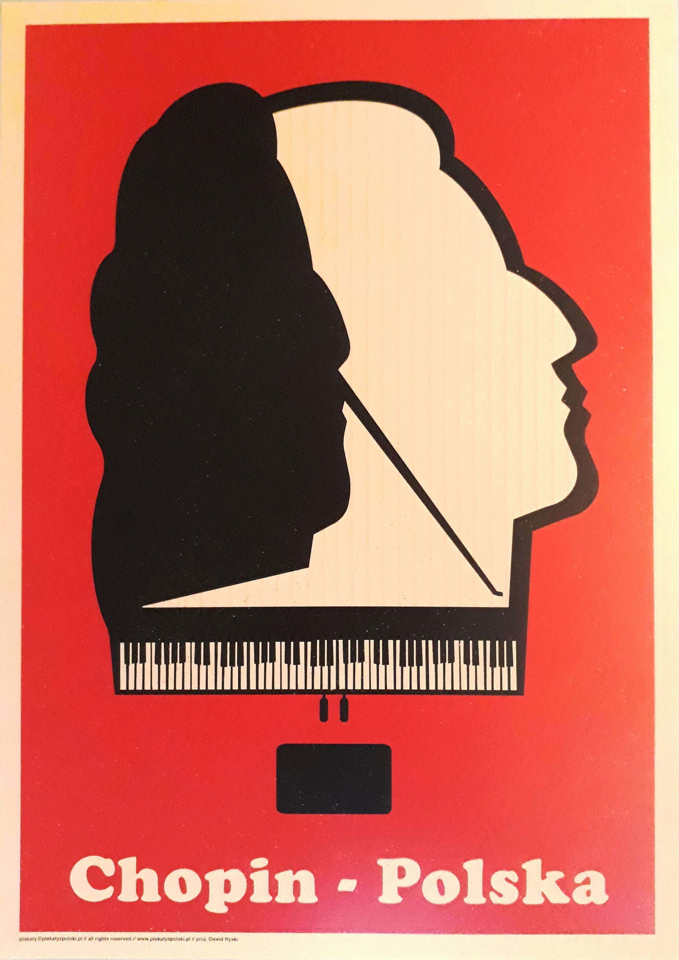 Plakat Chopin 35x25