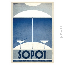 Mini plakat Sopot