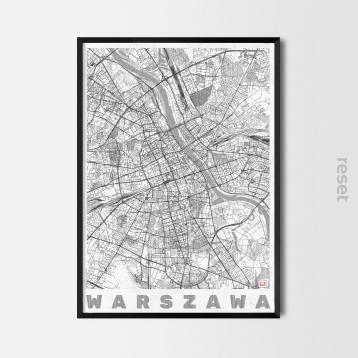 Plakat Warszawa W Ramie